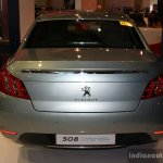 Peugeot 508 Hyrbid4 rear at the Philippines Motor Show 2014