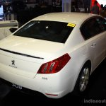Peugeot 508 rear right three quarter at the Philippines Motor Show 2014
