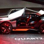 Peugeot Quartz profile view at the 2014 Paris Motor Show