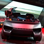 Peugeot Quartz rear fascia at the 2014 Paris Motor Show