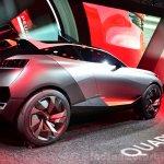 Peugeot Quartz rear three quarter view right at the 2014 Paris Motor Show