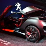 Peugeot Quartz rear three quarters door open at the 2014 Paris Motor Show