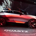 Peugeot Quartz side view at the 2014 Paris Motor Show