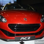 Peugeot RCZ front at the Philippines Motor Show 2014
