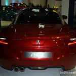 Peugeot RCZ rear at the Philippines Motor Show 2014