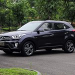 Production Hyundai ix25 images front quarter