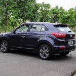 Production Hyundai ix25 images rear quarter