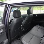 Production Hyundai ix25 images rear seat
