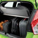 Proton Iriz press image boot with luggage