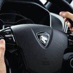 Proton Iriz press image steering wheel
