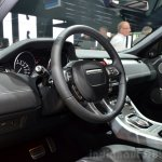 Range Rover Evoque SW1 dashboard at the 2014 Paris Motor Show