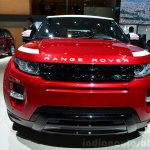 Range Rover Evoque SW1 front at the 2014 Paris Motor Show