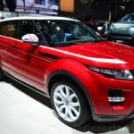 Range Rover Evoque SW1 front three quarter right at the 2014 Paris Motor Show