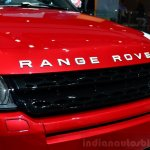 Range Rover Evoque SW1 nose at the 2014 Paris Motor Show