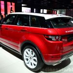 Range Rover Evoque SW1 rear three quarter at the 2014 Paris Motor Show