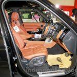 Range Rover LWB front seats at the 2014 Indonesia International Motor Show