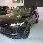 Range Rover LWB front three quarters at the 2014 Indonesia International Motor Show