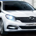 Refreshed Renault Samsung SM7 Nova press shots grille