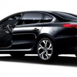 Refreshed Renault Samsung SM7 Nova press shots rear
