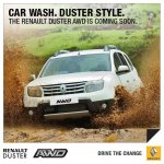 Renault Duster AWD India press shot front