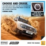 Renault Duster AWD India press shot