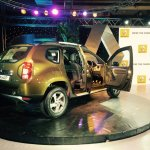 Renault Duster AWD launch live image rear three quarters