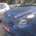 Renault Lodgy MPV spied grille