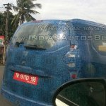 Renault Lodgy taillight Spied