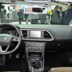 Seat Leon X-Perience dashboard at the 2014 Paris Motor Show