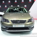 Seat Leon X-Perience front at the 2014 Paris Motor Show
