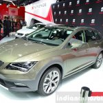 Seat Leon X-Perience front three quarters right at the 2014 Paris Motor Show