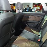 Seat Leon X-Perience rear seat at the 2014 Paris Motor Show
