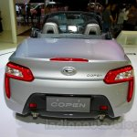 Silver Daihatsu Copen at the Indonesia International Motor Show 2014