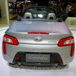 Silver Daihatsu Copen at the Indonesia International Motor Show 2014
