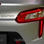 Silver Daihatsu Copen taillight at the Indonesia International Motor Show 2014