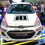Sporty Hyundai Grand i10 at the 2014 Indonesia International Motor Show front
