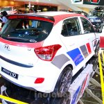 Sporty Hyundai Grand i10 at the 2014 Indonesia International Motor Show rear quarter