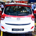Sporty Hyundai Grand i10 at the 2014 Indonesia International Motor Show rear