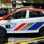 Sporty Hyundai Grand i10 at the 2014 Indonesia International Motor Show side