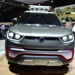 Ssangyong XIV-Adventure Concept front at the 2014 Paris Motor Show