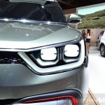 Ssangyong XIV-Adventure Concept headlamp at the 2014 Paris Motor Show