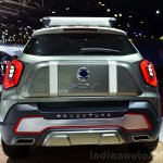 Ssangyong XIV-Adventure Concept rear at the 2014 Paris Motor Show