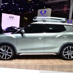 Ssangyong XIV-Adventure Concept side at the 2014 Paris Motor Show
