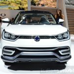 Ssangyong XIV-Air Concept front at the 2014 Paris Motor Show