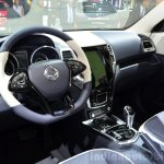 Ssangyong XIV-Air Concept interior at the 2014 Paris Motor Show