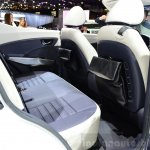 Ssangyong XIV-Air Concept rear legroom at the 2014 Paris Motor Show