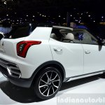 Ssangyong XIV-Air Concept rear three quarter angle at the 2014 Paris Motor Show