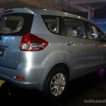 Suzuki Ertiga rear three quarter at the 2014 CAMPI