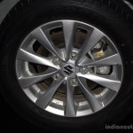 Suzuki Ertiga wheel at the 2014 CAMPI