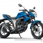 Suzuki Gixxer Dynamic shots Blue